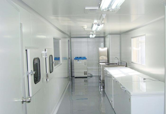 Laboratory cold room