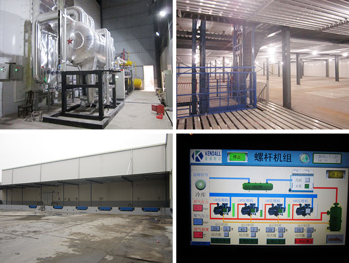 Jiangsu Changzhou Ruziniu Co. Large Cold Storage Project