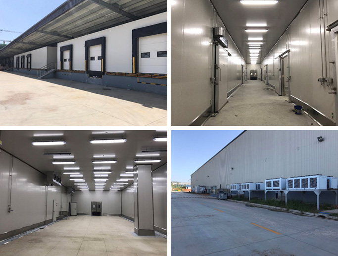 Chengdu Jingrui Large Food Processing Cold Storage Project