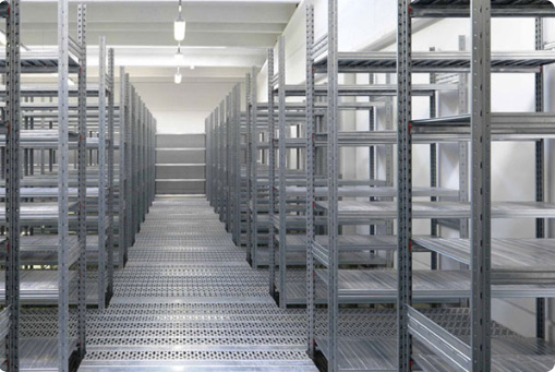 Shelving racking systems