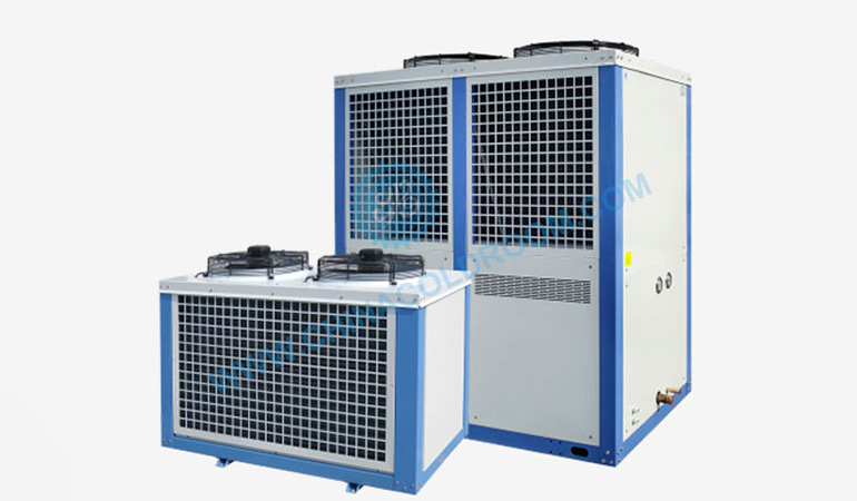Semi-Hermetic Air-Cooled GEA Bock Compressor Unit (-20~-15℃)