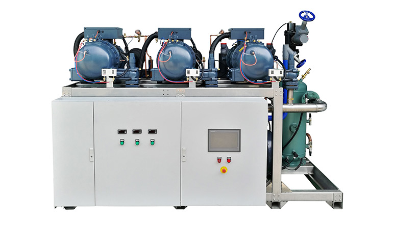 HANBELL Parallel Screw Compressors Condensing Unit (-5~5℃)