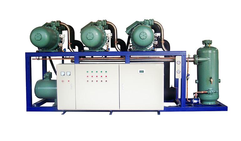 Semi-Hermetic Parallel Condensing Screw Compressor Unit (-20~-15℃)