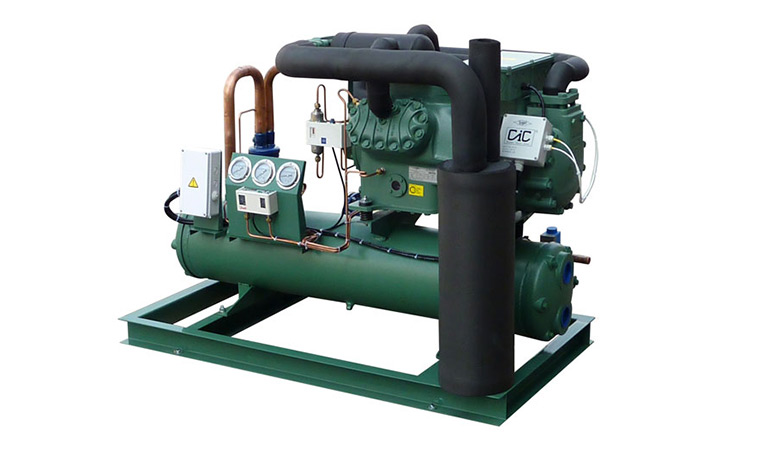 Hanbell Low Temperature Air-Cooled Screw Compressor Unit (-20~-15℃)