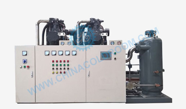 Two Stage Air Cooled Screw Condensing Unit – No 1 Refrigeration Unit (-50~-30℃)