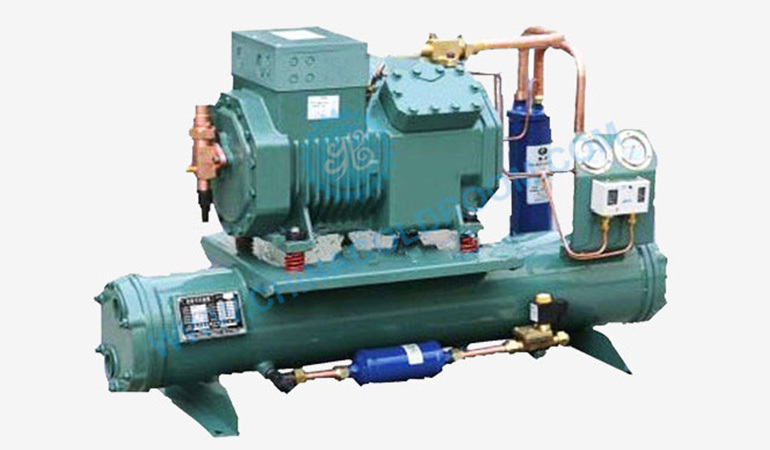 Bitzer Water-Cooled Open-Type Piston Condensing Unit (-10~5℃)