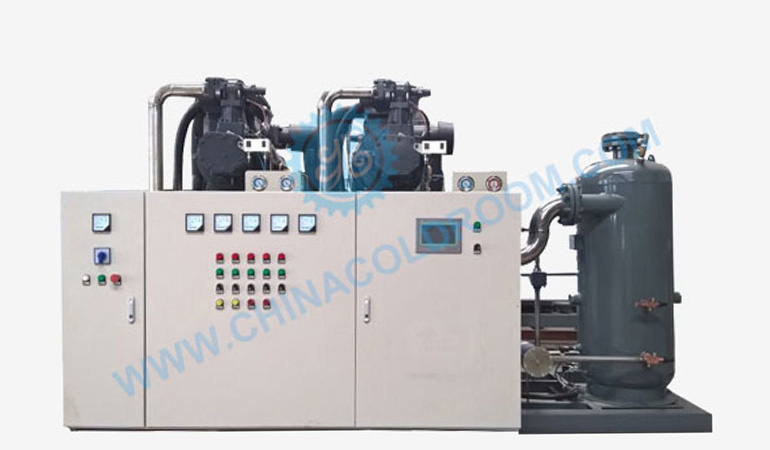 Semi-Hermetic Water Cooled Screw Compressor Unit – Top Quality (-20~-15℃)