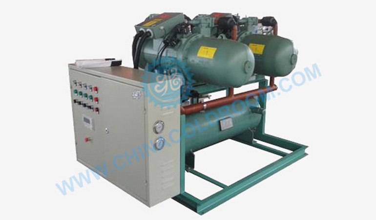 Semi-Hermetic Water Cooled Screw Compressor Unit (-5~5℃)
