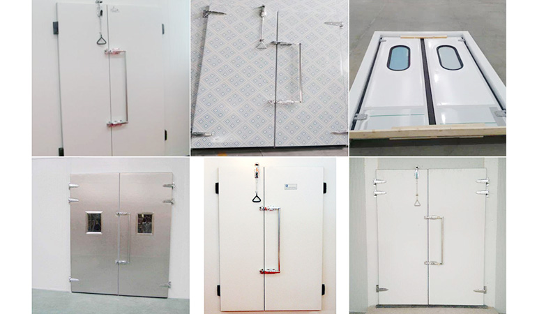 Double-open Testing Cold Room Door