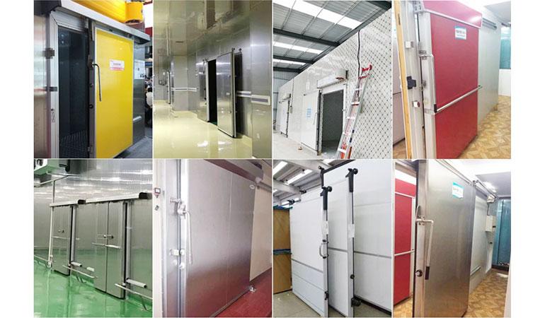 High Density Industrial Sliding Door